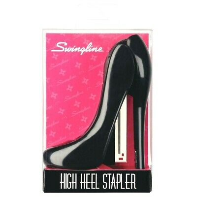 Swingline High Heel Stapler Fun Desk Accessories Desk Dcor Black Plastic