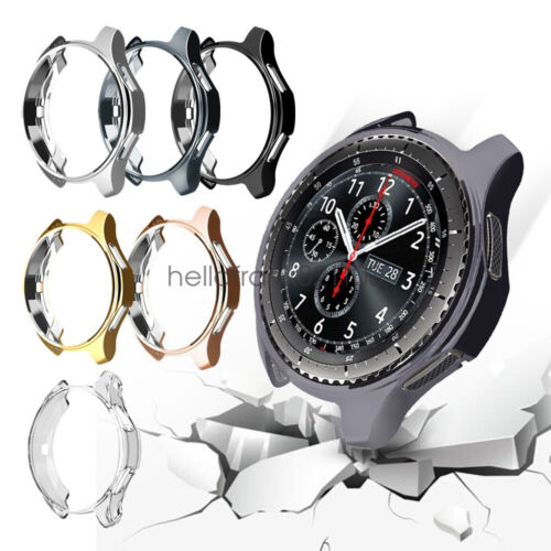 2Pack TPU Protector Watch Case Cover Bumper For Samsung Gear