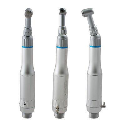 Dentist Safty Use E-type Dental Slow Low Speed Handpiece Kit Push Button 2 Holes