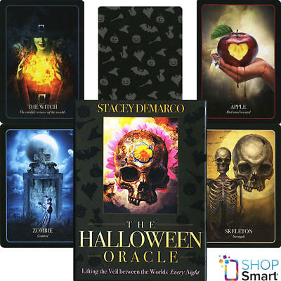 THE HALLOWEEN ORACLE DECK CARDS STACEY DEMARCO ESOTERIC TELLING BLUE ANGEL NEW](The Halloween Oracle)