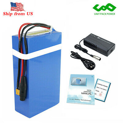 48V 20Ah Lithium ion Battery Pack Waterproof PVC for 750W 1000W Scooter Ebike