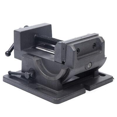 4 Industrial Strength Benchtop Drill Press Tilting Angle Vise Tilt Brand New
