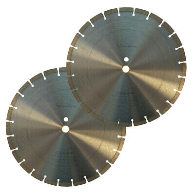 2 Pack 14 General Purpose Segmented Diamond Saw Blade For Concrete Masonry