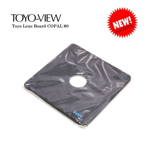 NEW Toyo Lens Board #0 *NIB*