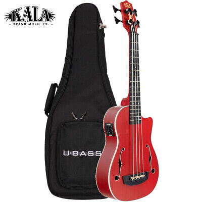 NEW Kala Journeyman UBass RED U-BASS Mahogany with Gig Bag - New IN STOCK!, used for sale  Anaheim