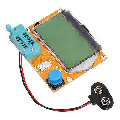 Lcr-t4 12864 Lcd Graphical Transistor Tester Resistance Capacitance Esr Meter