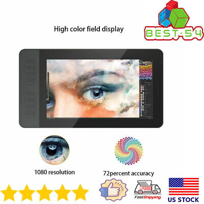 """Digital Graphics Board Drawing Pad Tablet with Pen 11.6"""" IPS HD Screen Display"""