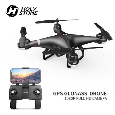 Holy Stone HS110G GPS FPV Drone with 1080P HD Live Video Camera RTH Follow Me