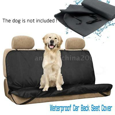 Dog/Cat Pet Seat Cover Waterproof Car Back Seat Cover Bench Protector Belt