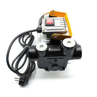 Electric Oil Pump Self Priming Transfer Fuel Oil Diesel 220v 60lmin 550w Filter
