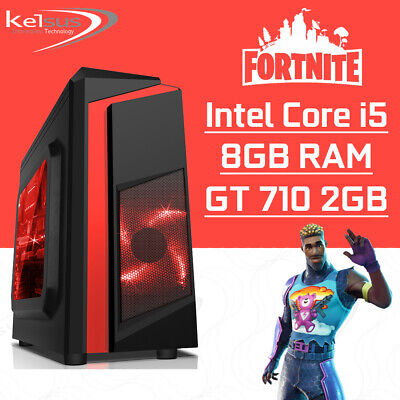 Computer Games - Ultra Fast Gaming PC Quad Core i5 Computer 8GB RAM 1TB HDD GT710 2GB Windows 10