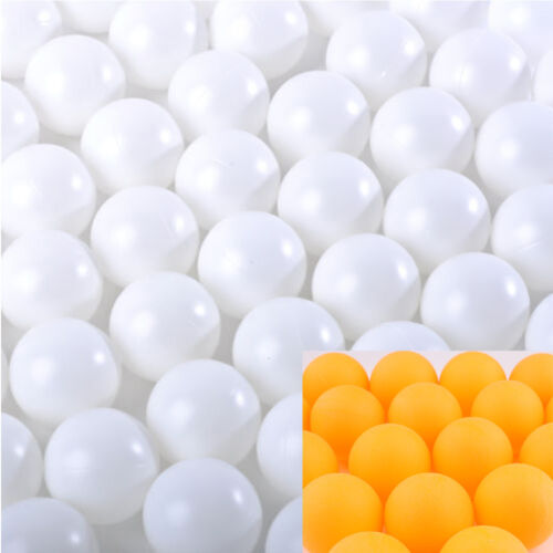 150pcs Hot Wholesale Budget Plastic Table Tennis Ping Pong Balls Training Sports