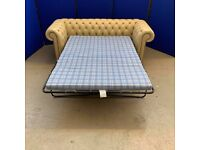 new 3 seater Chesterfield sofa bed