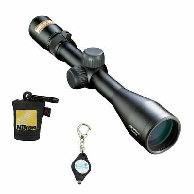 Nikon 16329 ProStaff Rimfire II 3-9x40mm BDC 150 Riflescope w/ Fabric & Keychain