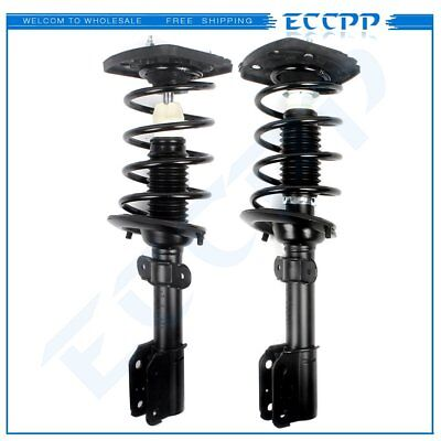 "For Chevrolet Impala 2004-13 Rear Quick Struts Shocks & Springs up to 17"" Wheels"
