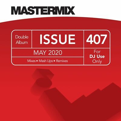 MASTERMIX, L@@K What's New; PRE-ORDER MAY ISSUE 407, 10 MIXES 2xCDs.
