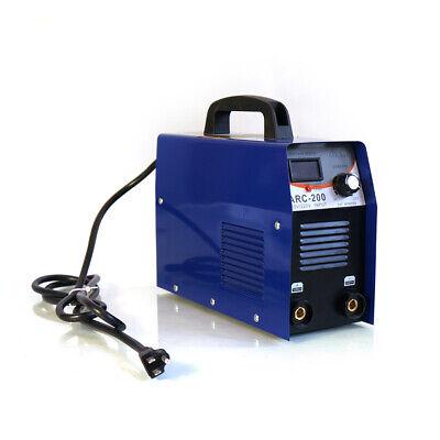 Arc-200 Amp Igbt Inverter Dc Arc Stick Welder Portable Welding Machine Mma 110v
