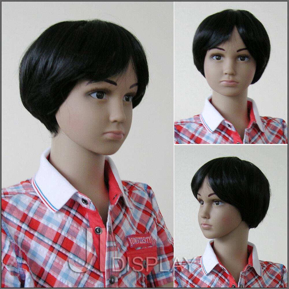 JI DISPLAY Kinder Perücke Wig für Kinderpuppen Mannequin Schaufensterpuppe 001-2