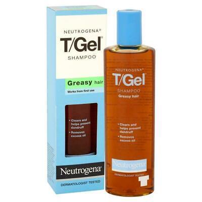 Neutrogena T/Gel Anti-Dandruff Shampoo For Greasy Hair 125Ml Pack of - Greasy Hair Anti Dandruff Shampoo
