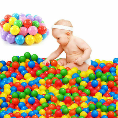 Baby Ball Pits (new 100pcs Colorful Soft Plastic Ocean Ball 70MM& Safty Secure Baby Kid Pit)