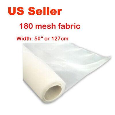 3yard 180 Mesh Screen Printing Fabric For Silk Screen Printing 50width