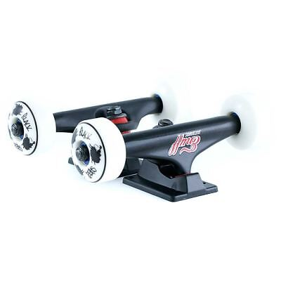 """Skateboard Wheels Bearings Bolts Grip Tape and Trucks 5.0"""" New Free Delivery"""