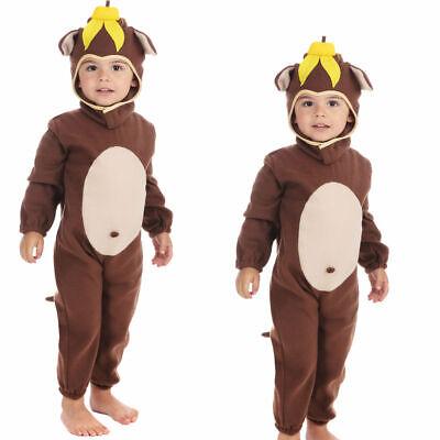 Tier Frecher Affe Kleinkind Buchwoche Verkleidung Alter 2 (Affe Kostüm Kleinkind)