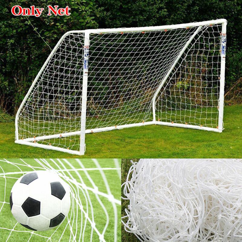 6 x 4Ft Football Net Soccer Goal Post Nets Training Match PE Polyethylene (Net)