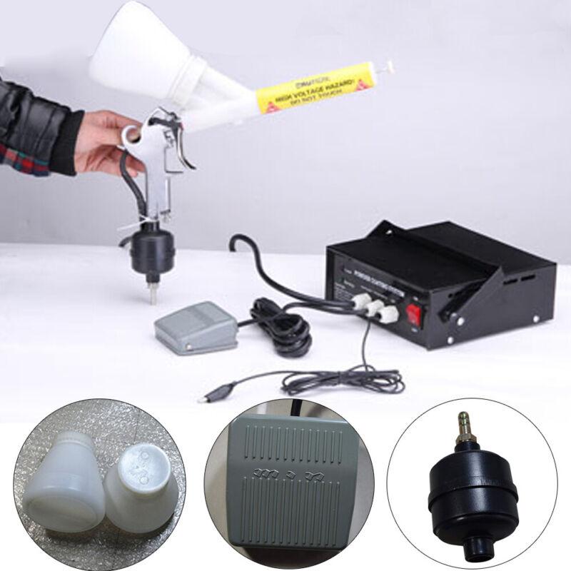NEW Portable PC03-5 Powder Coating System Paint Gun Sprayed Metal Parts Coating