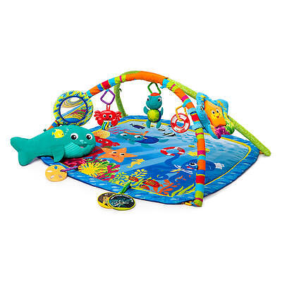 Baby Einstein Activity Play Gym Toy Soft Floor Crawl Mat Mus