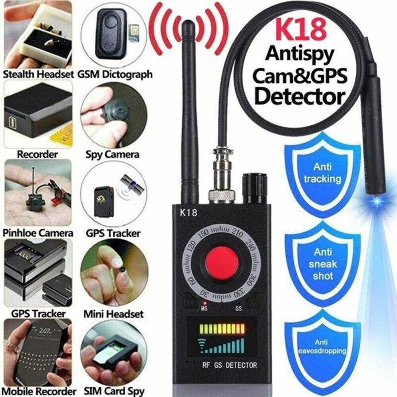 K18 RF Tracker Camera Anti-Spy Detector GSM Audio Finder GPS bug Signal Scanner