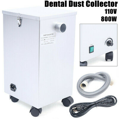 Dental Mobile Dust Collector Lab Vacuum Cleaner Extractor Dust Removal Machine