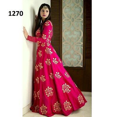 Bollywood Ethnic Designer Saree Party Wear Women lehenga Indian Pakistani dress