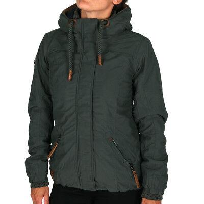 Naketano Dope is Hope Jacket Dark Green Damen Winterjacke Grün