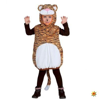 Kostüm Tiger Gr. 104 Jungen Mädchen Faschingskostüm Karneval Löwe (Tiger Kostüme Jungen)