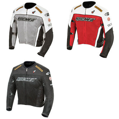 2018 Joe Rocket Mens UFO 2.0 Mesh Motorcycle Jacket w/ Armor - Pick Size/Color Ufo 2.0 Jacket
