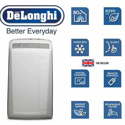 Delonghi Pac N82 Eco Portable Air Conditioning Unit New Conditioner Cooling Fan