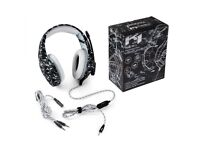 Gaming Headphones with Noise Cancelling Mic For xbox one S PC PS4 Smartphones Laptop Computer