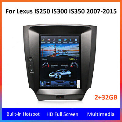 Style Navigation - 10.4''Tesla Style Car GPS Radio Navigation for Lexus IS250 IS300 IS350 2007-2015