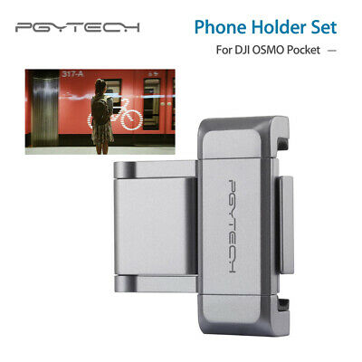PGYTECH Phone Holder Set Gimbal Mount Stand For DJI OSMO Pocket Stabilizer Drone