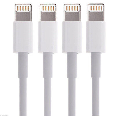 4X 8 Pin USB Data Sync Charger Cable Cords for iPhone X 8 7