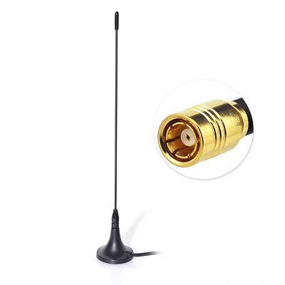 DAB + DAB Digital Car Radio Antenna Aerial SMB with Magnetic Base 4M Cable ()