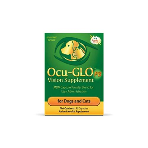 Ocu-Glo PB Vision Supplement Capsule Powder Blend for Dogs and Cats 30ct