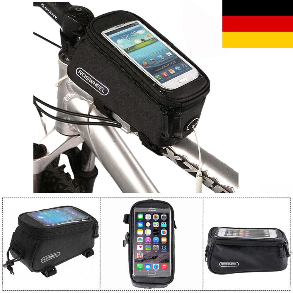 Fahrradtasche Rahmentasche Handy Oberrohrtasche Smartphone Halterung Tasche Bag