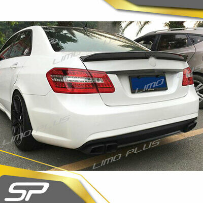 SpeedyParts Heckspoiler Flügel Carbon Fiber für Mercedes Benz E Klasse W212 Limo