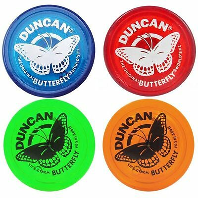 Duncan Butterfly Yo Yo Original Classic Blue Red Green Or Orange  World S  1