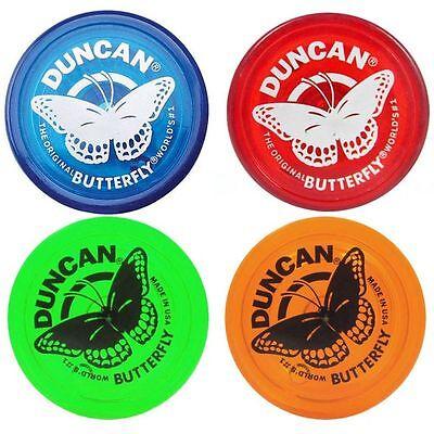 Duncan Butterfly Yo Yo Original Classic Blue Red Green or Orange  World #1 YoYo](Yoyo Toys)
