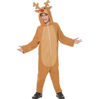 Smi - Kinder Kostüm Rentier Elch Weihnachten Karneval