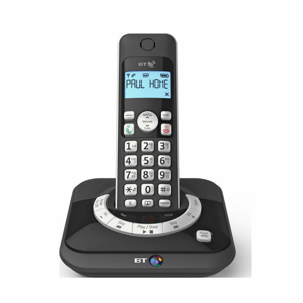 BT 3530 Single Digital Cordless Telephone With Answering Machine & Speaker Phone