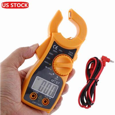 Digital Multimeter Meter Amp Ohm Voltmeter Auto Range Volt Tester Ac Dc W Lead